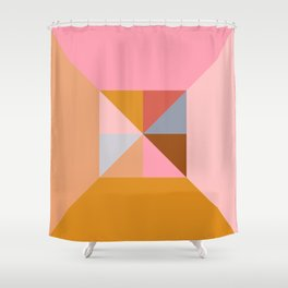Shape and Color Study 324 Shower Curtain