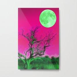 Moonrise park Metal Print