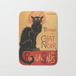 La tournée du Chat Noir  (The Black Cat show) Bath Mat