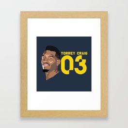 Torrey Craig Framed Art Print