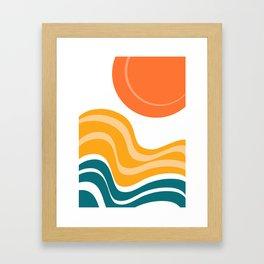 Sun Dunes 03 Framed Art Print