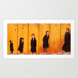 The Missing Year Art Print