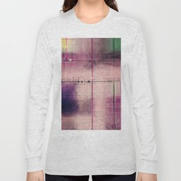 Dusk Pastel Pattern design Long Sleeve T-shirt