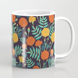 Day Of The Dead Pattern | Dia De Los Muertos Skull Coffee Mug