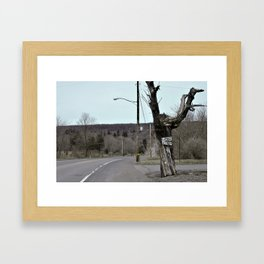 Welcome to Centralia Framed Art Print