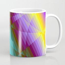 Color Fractions Coffee Mug