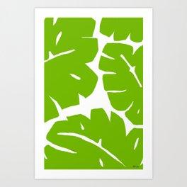 Jungle Leaf Art Print