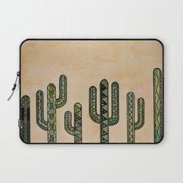 Mandala Cactus Watercolor & Ink Laptop Sleeve