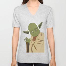 Yoda (Vector Art) Unisex V-Neck
