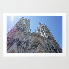 Basilica del Voto Nacional Art Print