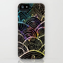 A Hilly Landscape iPhone Case