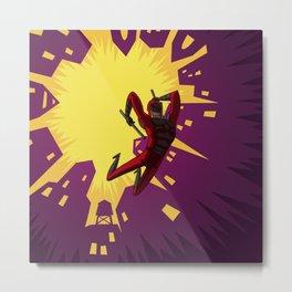 Daredevil Jump Metal Print