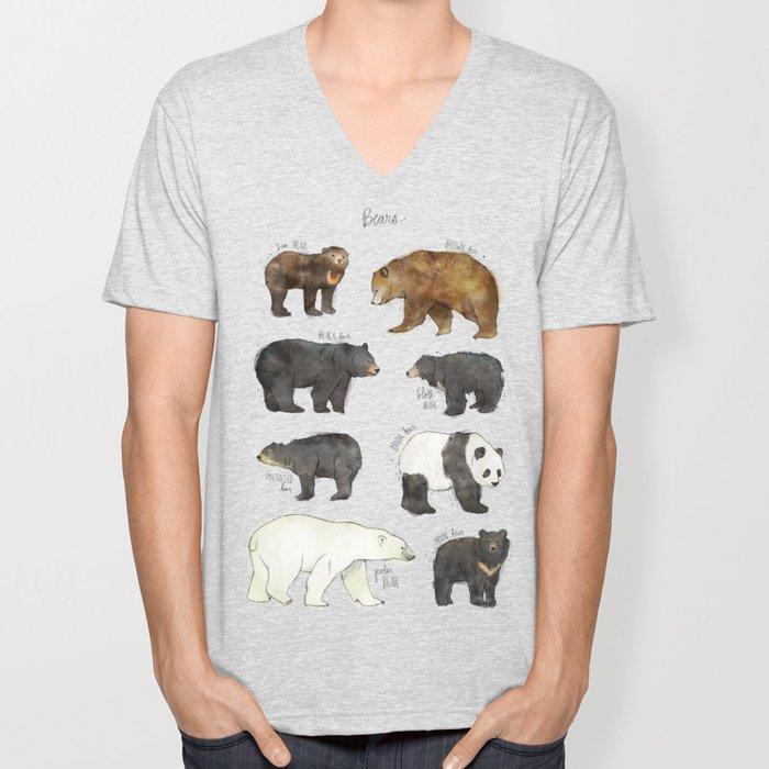 Bears Unisex V-Neck