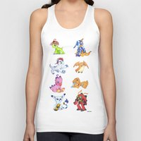 digimon Tank Tops featuring Digimon Group by Catus