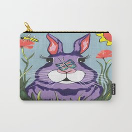 Funny Bunny - Happy Easter Carry-All Pouch