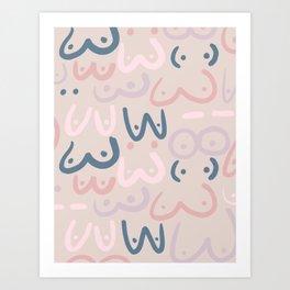 Boobs > Art Print