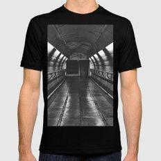 Underground: Waterloo (3) Mens Fitted Tee MEDIUM Black