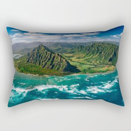 Jurassic Park Panoramic Rectangular Pillow