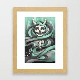 Lady Hades Framed Art Print