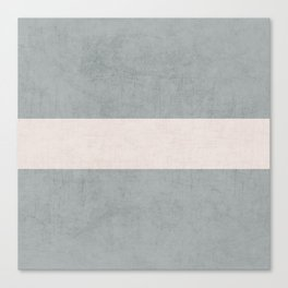 gray and white classic Canvas Print