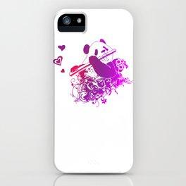 Panda Flute iPhone Case
