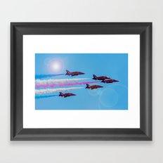 ARROWS IN FLIGHT Framed Art Print