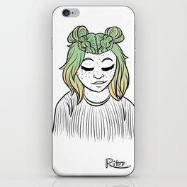 Hairstyle #11 iPhone Skin
