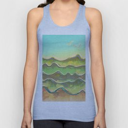 Magic Flight over the Sea of Clouds Unisex Tank Top