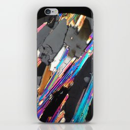 Minerals in abstraction iPhone Skin