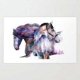 Horses #1 Art Print