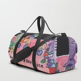 Roller Derby Girls Duffle Bag