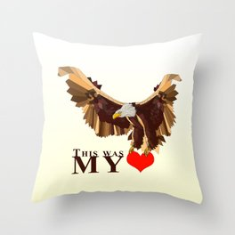 This was my HEART Throw Pillow