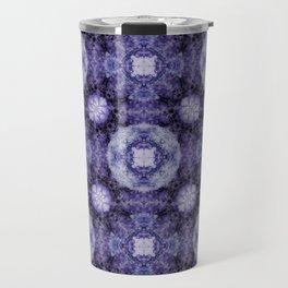 Snowballs and Purple Dreams Travel Mug