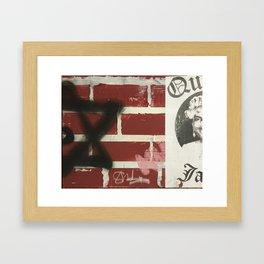 A piece of a piece 1. Framed Art Print