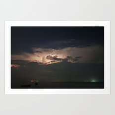 Storm's Coming Art Print