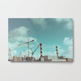 El Segundo Towers Metal Print