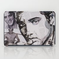 elvis iPad Cases featuring Elvis by Ross Collins Artist