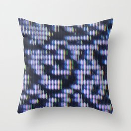Painted Attenuation 1.1.1 Throw Pillow