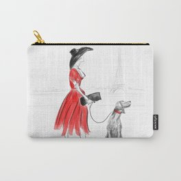 WEIMARANER IN PARIS Carry-All Pouch