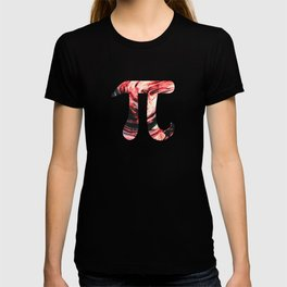 Abstract Sun Oil Paint Pi Day T-shirt
