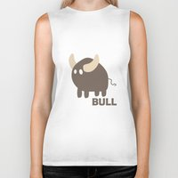 bull Biker Tanks featuring Bull by Thomas Official