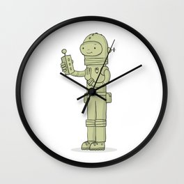 Zulu The Last Interdimensional Time and Space Explorer Wall Clock