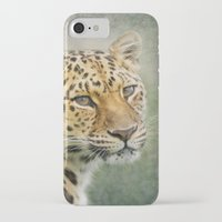 leopard iPhone & iPod Cases featuring Leopard by Pauline Fowler ( Polly470 )
