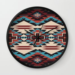American Native Pattern No. 67 Wall Clock