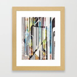 Artworsky Zebra  Framed Art Print