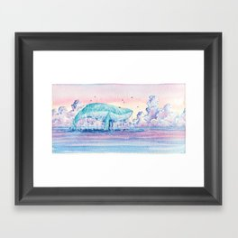 Just go! Framed Art Print