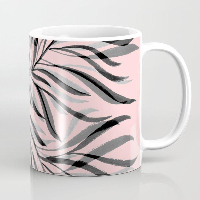 Pink Foliage I Coffee Mug