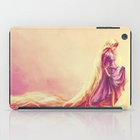 hair iPad Cases featuring Gilded by Alice X. Zhang