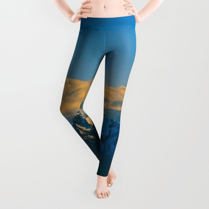 Pioneer Peak - Mat-Su Valley Leggings