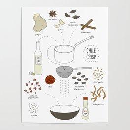 Chili Crisp Poster